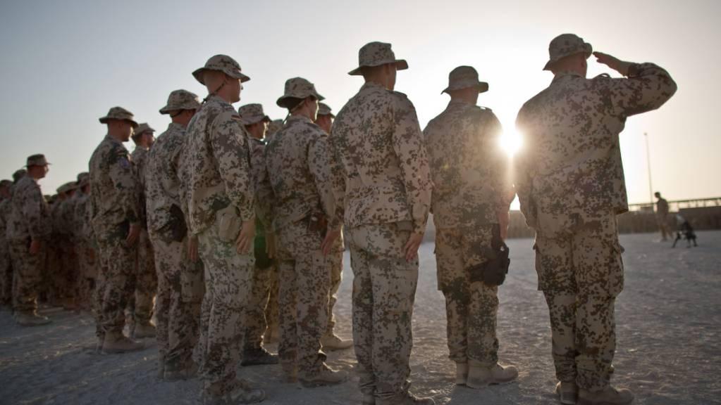 Bundeswehrsoldaten ziehen sich in den nächsten Wochen aus dem afghanischen Kundus zurück.