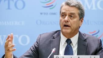 WTO-Generaldirektor Roberto Azevêdo sprach von Krisenstimmung. Experten warnen seit Wochen vor eskalierenden Handelskriegen.