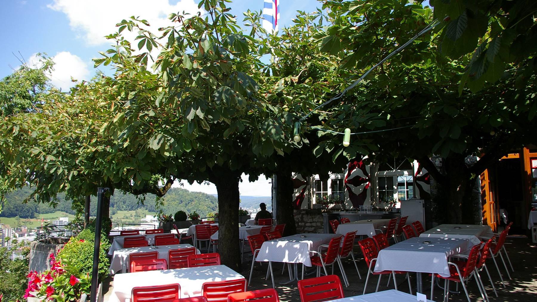 Restaurant Schloss Schartenfels, Wettingen