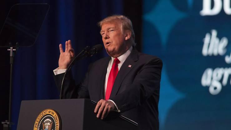 Donald Trumps Verfassung: Das Weisse Haus will erstmals bei einem amtieren US-Präsidenten gewisse Angaben zum Gesundheitszustand publizieren.
