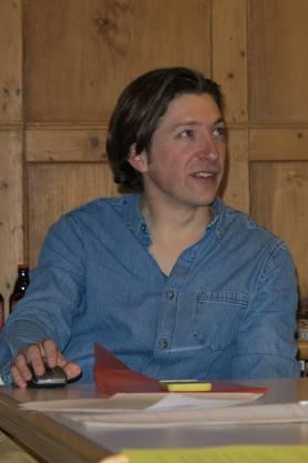 Matthias Wittwer am Vortrag in Hessigkofen