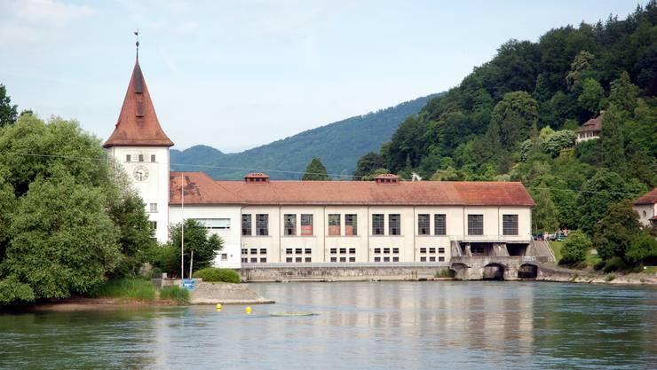 Kraftwerk der IBAarau in Aarau