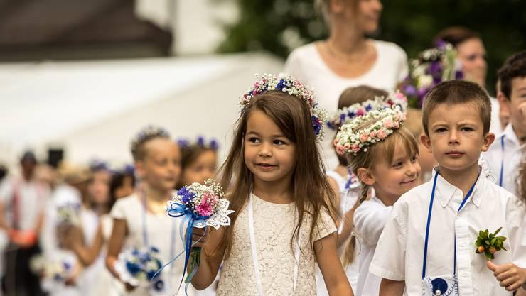 Um 10.15 Uhr startet der Festumzug beim diesjährigen Lenzburger Jugendfest.