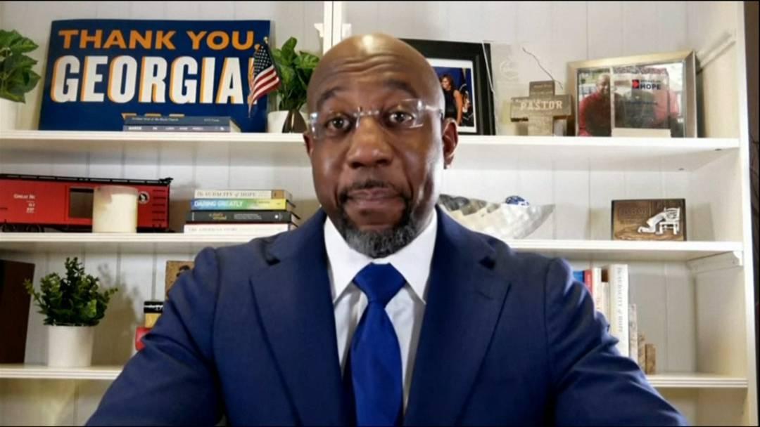 Demokrat Warnock setzt sich bei Senatswahl in Georgia durch