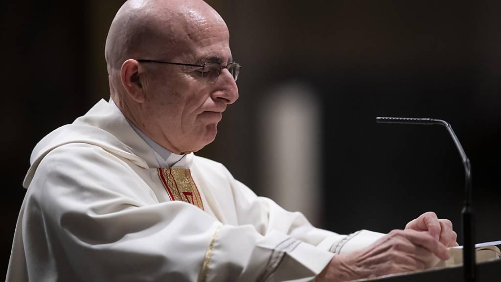 Bischofsweihe in Chur findet nur in kleinem Kreis statt