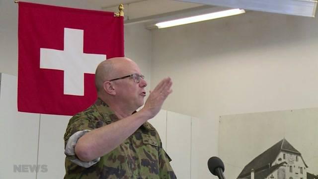 Armeechef zieht nach 100 Amtstagen Bilanz