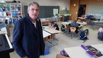 Daniel Keller arbeitete 22 Jahre an der Volksschule, ehe er 2005 zusammen mit seiner Frau Estelle die private Tagesschule Wannenhof in Unterkulm gründete.