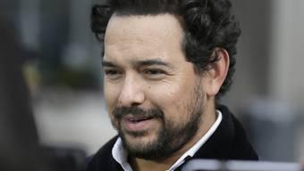 "Spielt in der Netflix-Serie ""Narcos: Mexico"" den Drogenboss Joaquin ""El Chapo"" Guzman: der mexikanische Schauspieler Alejandro Edda."