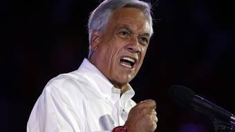 Aussichtsreichster Kandidat für die chilenische Präsidentschaft: Der Konservative Sebastián Piñera (in einer Aufnahme vom 16. November).