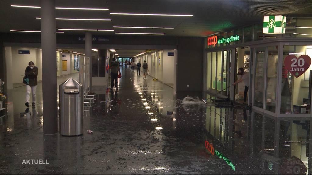 Erneut getroffen: Schon wieder richtet ein Gewitter im Kantonen Aargau grosse Schäden an