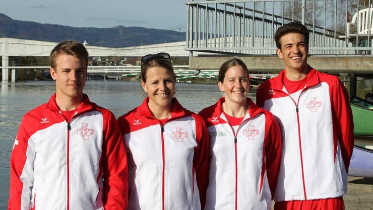Das Solothurner Team hofft in Bryson City auf eine Medaille.