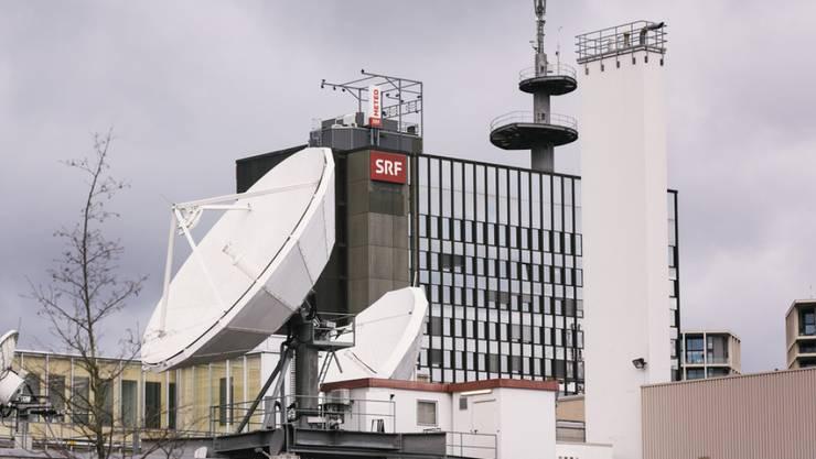 Blick auf das SRF-Gebäude in Zürich: Erstmals präsentiert das Unternehmen seine konkreten Sparmassnahmen. (Archivbild)