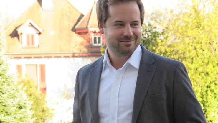 Patrik Dober (31, Pro Aarau) Projektleiter SBB Cargo, Kandidat Einwohnerrat Aarau