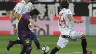 Lionel Messi nimmt Mass und trifft zum wegweisenden 1:0 für Barcelona