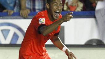 Neymar brachte Barcelona in Führung