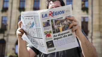 """Die Stadt Yverdon-les-Bains arbeitet nach einem Streit wieder mit der Waadtländer Lokalzeitung """"La Région"""" zusammen. (Archivbild)"""