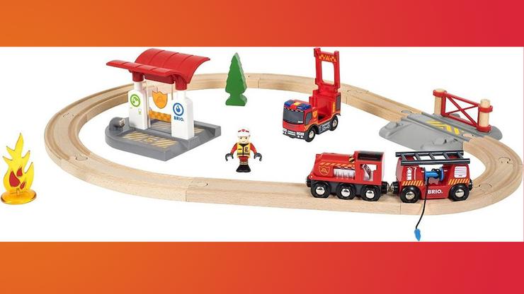 Wunsch-Nr. 9, Silas, 6 Jahre, Brio Bahn Feuerwehr-Set, Digitec/Galaxus, CHF 44.80