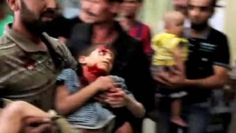 Viele zivile Opfer in Syrien (Archiv)