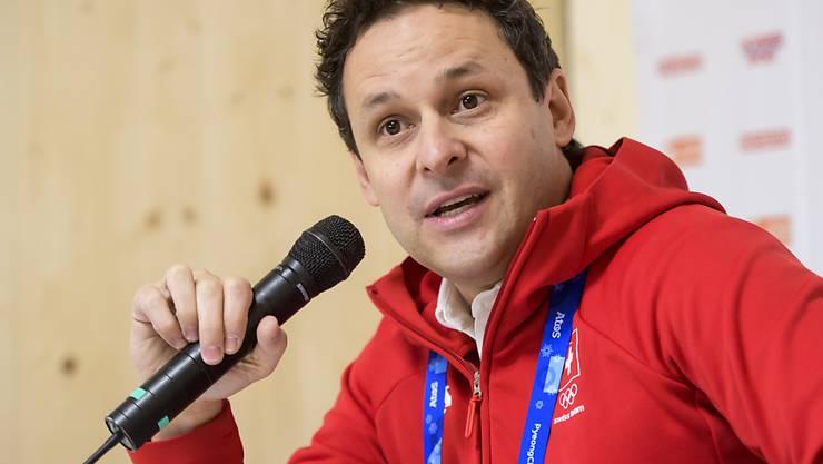 Sprach von einem herausfordernden Olympia-Start für alle Beteiligten: Ralph Stöckli, der Schweizer Chef de Mission