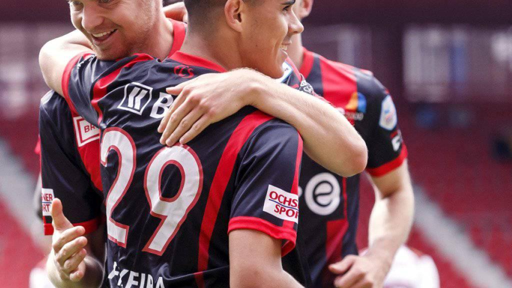 Schütze des einzigen Tores im Romand-Derby: Xamax-Stürmer Pedro Teixeira