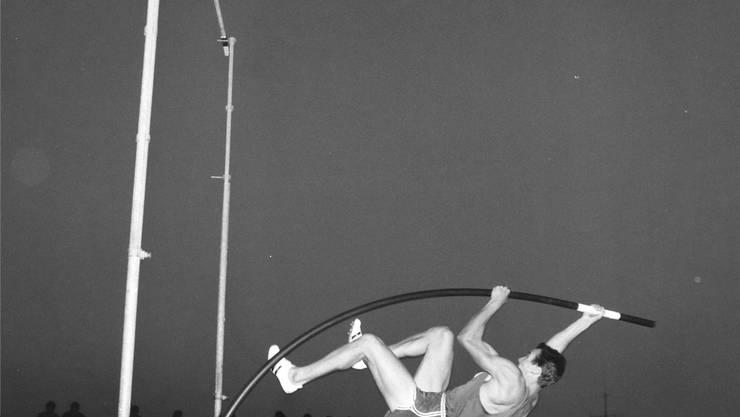Der Star des Meeting 1966: Bob Seagren.