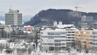 Auf einen Schlag 420 neue Wohnungen – viele stehen noch leer: Überbauung Olten Südwest (vorne rechts).