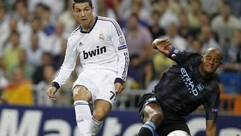 Cristiano Ronaldo schiesst Real zum Sieg.