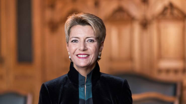 Neuer Straftatbestand: Bundesrätin Karin Keller-Sutter will Sex ohne Einvernehmen ahnden.  (Archivbild)