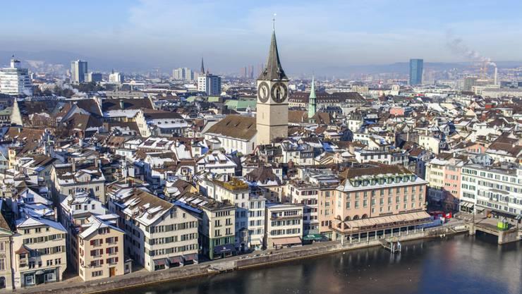 """Zürich ist nach einer Rangliste der Analysten der """"Economist Intelligence Unit"""" die zweitteuerste Stadt der Welt. (Archivbild)"""