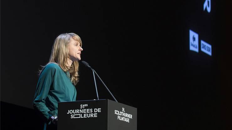Seraina Rohrer, Direktorin der Solothurner Filmtage, fand an der Eröffnung deutliche Worte.