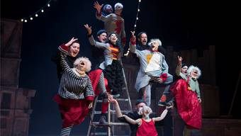 Am Dienstagabend fand die Eröffnung der elften Ausgabe des Figura-Theaterfestivals im Kurtheater Baden statt.