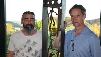 Claudio Cassano (l.) und Daniel Schwarz arbeiten seit 25 Jahren zusammen. psc