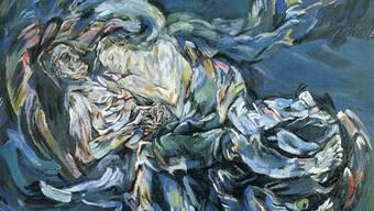 In der «Windsbraut» von 1913 malte Oskar Kokoschka sich mit seiner Geliebten, Alma Mahler.