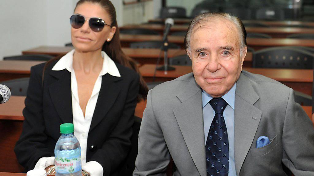 Argentiniens Ex-Präsident Menem will erste Ehefrau erneut heiraten