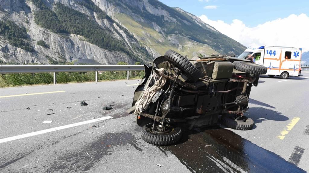 Motorradfahrer bei Domat/Ems bei Unfall tödlich verletzt