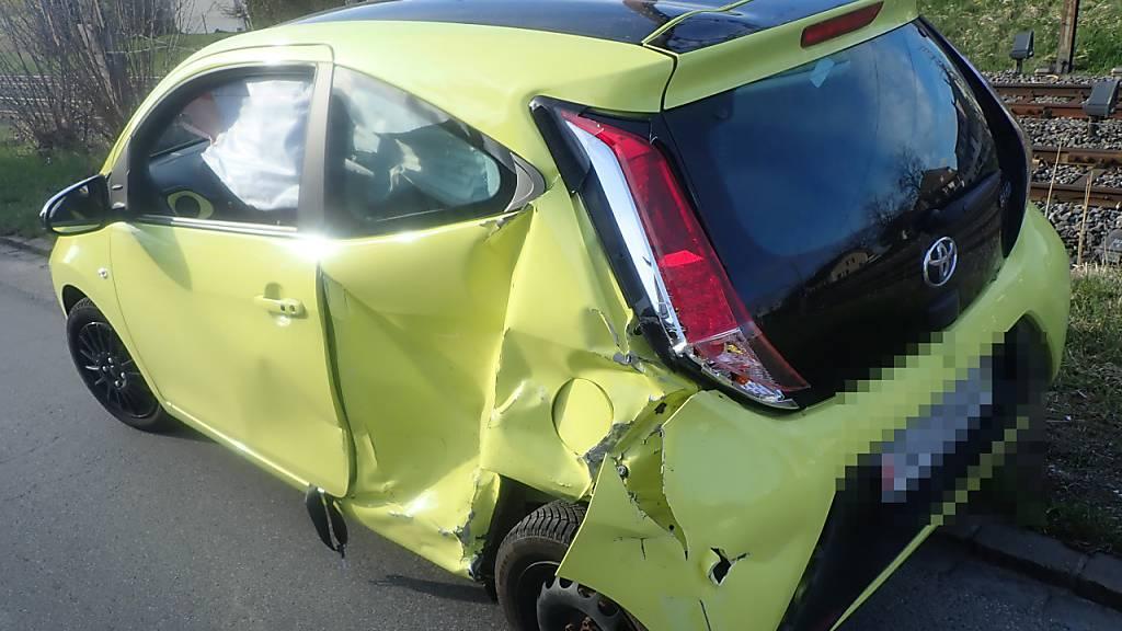 Drei Frauen bei Unfall auf Kreuzung in Amriswil verletzt