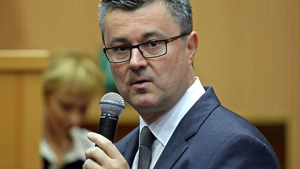 Der gestürzte kroatische Regierungschef Tihomir Oreskovic.