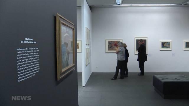 Gurlitt-Ausstellung eröffnet