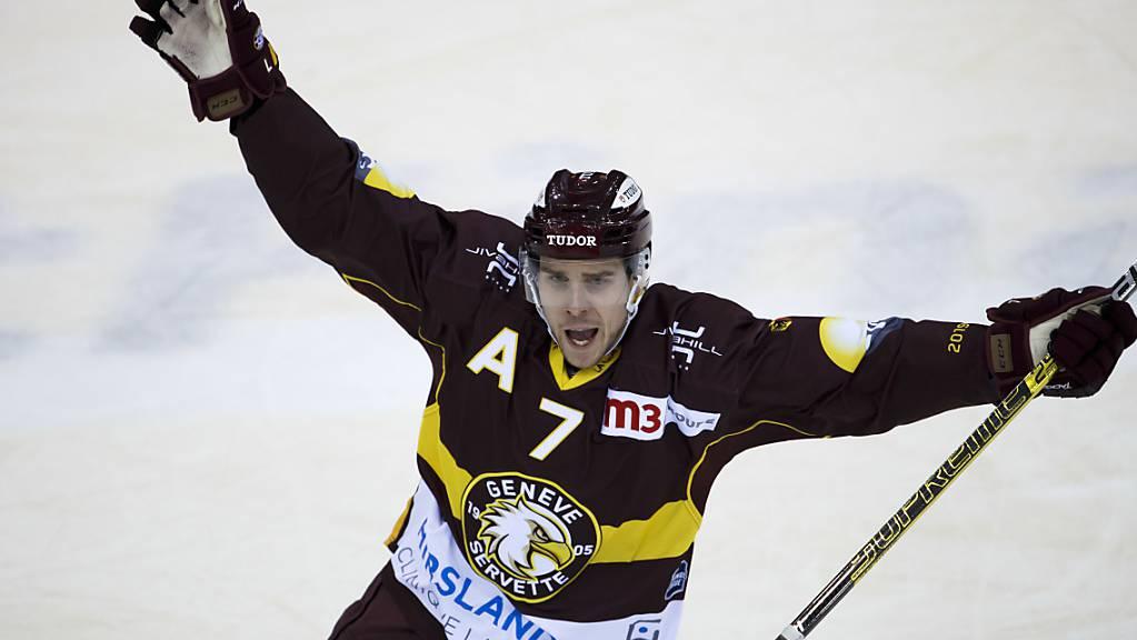 Der schwedische Verteidiger Henrik Tömmernes hält Genève-Servette über die Saison 2020/21 hinaus die Treue