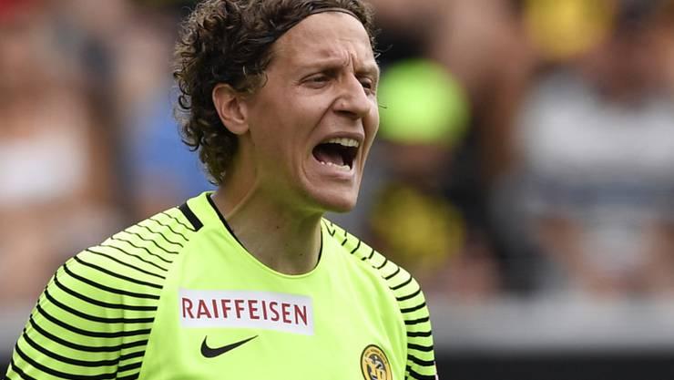 Auf Marco Wölfli muss im Match gegen Dynamo Kiew Verlass sein