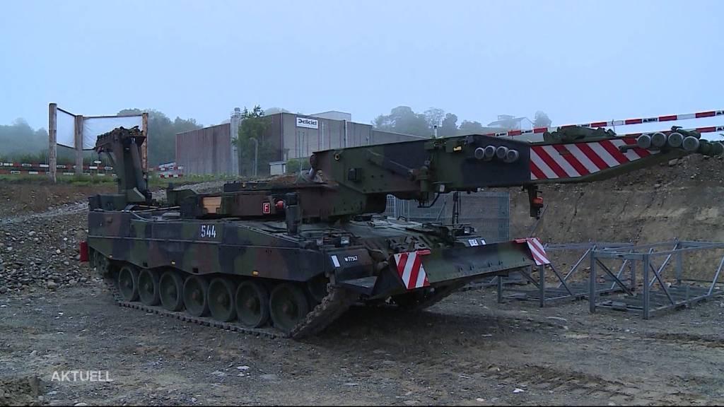 Birmenstorf wird zur Hochburg der Panzer