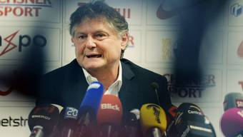 Hat im Moment nicht viel zu lachen: FCZ-Präsident Ancillo Canepa steht mit seinem Team am Tabellenende.