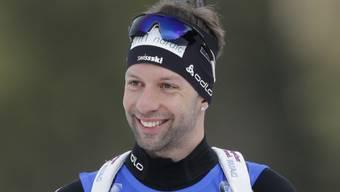 Serafin Wiestner lacht als bester Schweizer in die Kamera (Archivaufnahme)