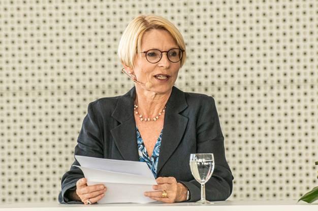 Als neue Staatssekretärin im Rennen: Livia Leu Agosti, derzeit Schweizer Botschafterin in Frankreich.
