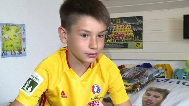 10-Jähriger trifft Ronaldo