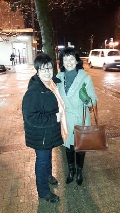 Christine Rütti und Diana Stärkle