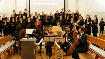 Adventskonztert 2016 Badener Kammerchor in der Reformierten Kirche Baden.