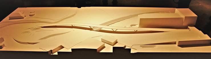 Siegerprojekt «Integral»: Das Modell des 265 Meter langen Spannbetonbauwerks.