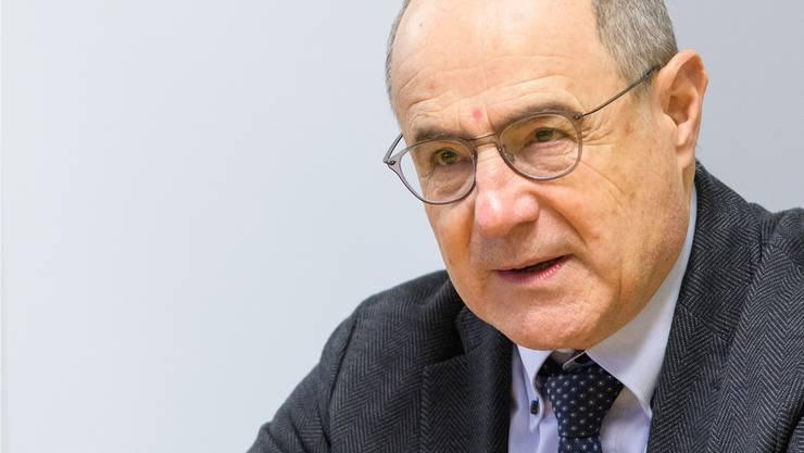 Vermutlich in seiner letzten Amtsperiode: der Baselbieter Ständerat Claude Janiak.