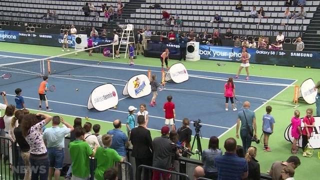 Tennisstars zum Anfassen
